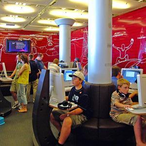 Интернет-кафе Большого Нагаткино
